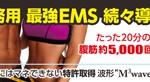 業務用【EMS】続々導入!!